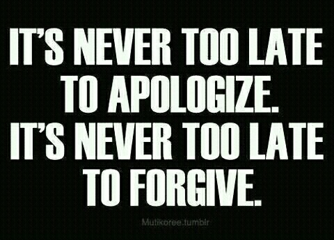 Too Late To Apologize Quotes. QuotesGram - 64.8KB