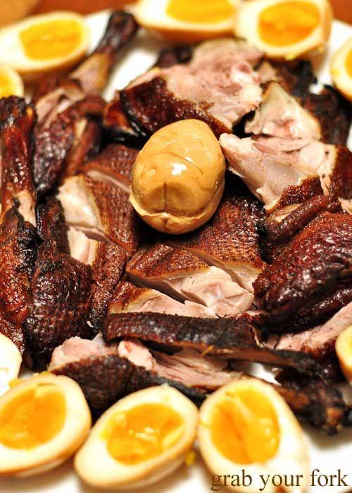 tea smoked duck with tea smoked eggs | Food + Drink | Pinterest