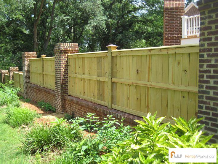 Fence Backyard Privacy : Backyard Fence  Traditional Privacy Fences  Pinterest