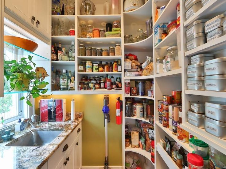 Sink in the pantry. Interiors: Pantry Envy Pinterest