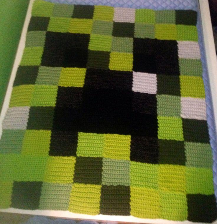 Minecraft Creeper Crochet Blanket Apps Directories