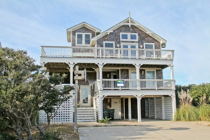Pin by sun realty on nags head nc vacation rentals pinterest for Beach house design features