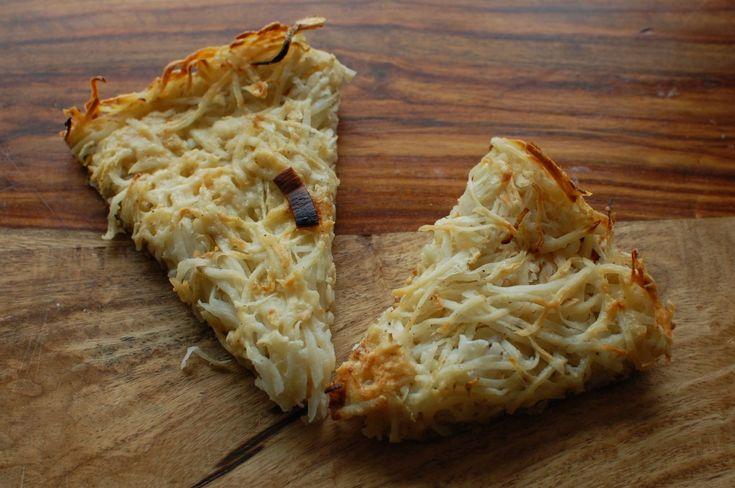 Potato Celery Root Skillet Cake recipe.   Sides and Veggies   Pintere ...
