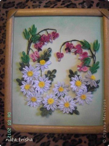 Панно цветы фото