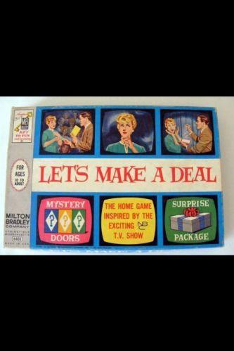 1964 let s make a deal vintage board games card games etc pintere