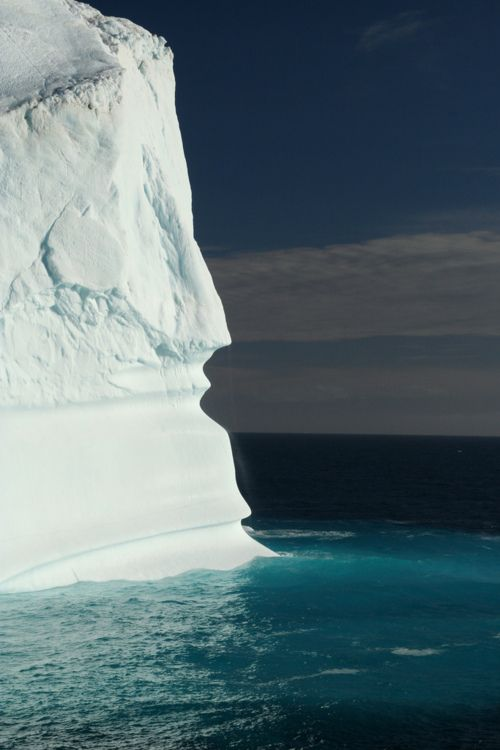 Icebergs in Baffin Bay, Greenland