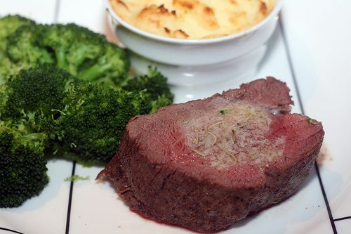 Beef Tenderloin with Herb Butter 1 (3-pound) center-cut beef ...