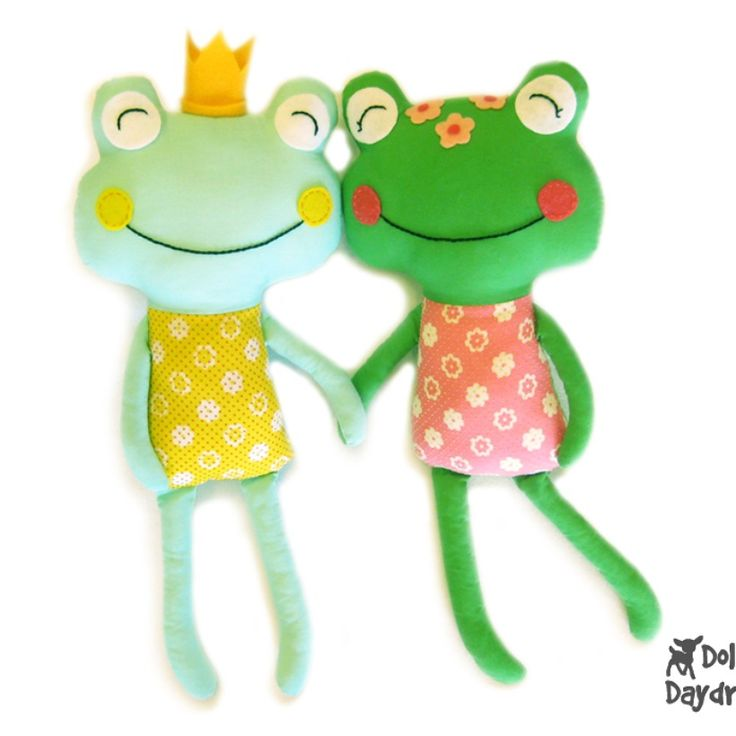 Dolls And Daydreams / Frog Prince Sewing Pattern