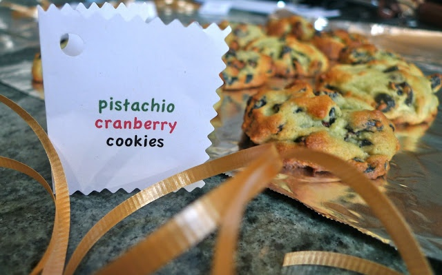 ... delicious: Cranberry Pistachio Pudding Cookies #siriouslydelish