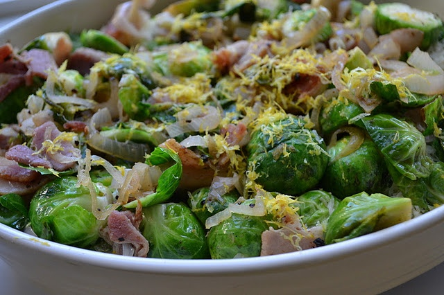 Brussels Sprouts Gratin | Delish Looking Food | Pinterest