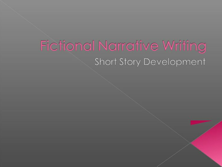 Fictional Narrative PowerPoint