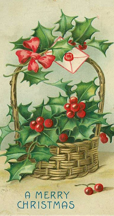 By angela phillips on vintage christmas cards and postcards pin
