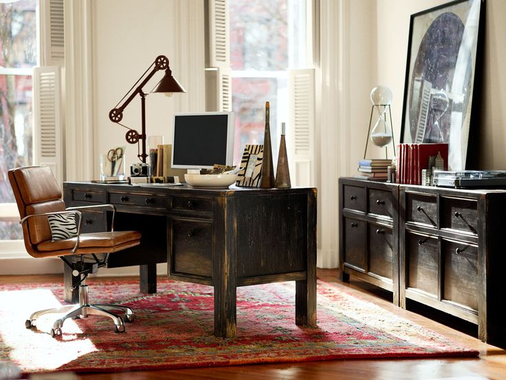 Pin By Pottery Barn On Home Office By Pottery Barn Pinterest