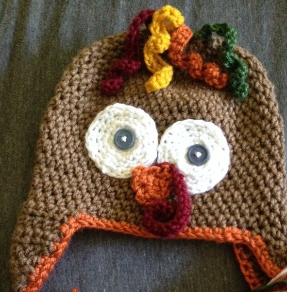 How to knit a turkey hat crafts