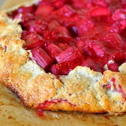 ... Rhubarb and Raspberry Crostata from http://gastronomyblog.com/2011/06