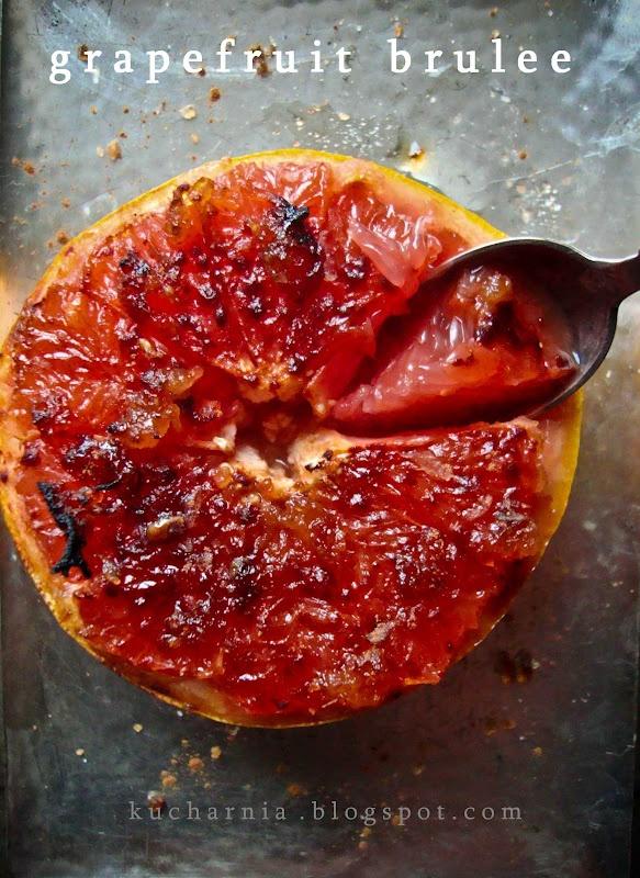 Grapefruit Brulee | Brulee | Pinterest