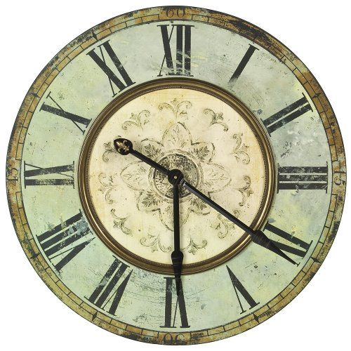 Antique Large Wall Clock Time Pinterest