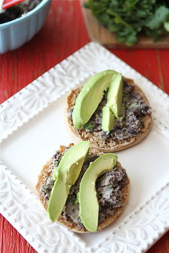 Southwestern Eggs Benedict With Black Bean Spread, Avocado & Salsa ...