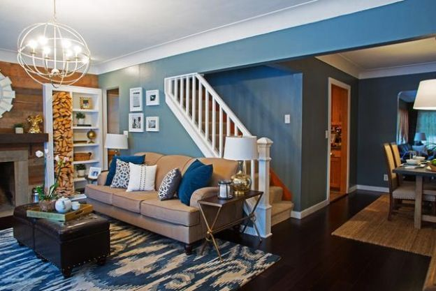 blue and orange living room orange and blue rooms