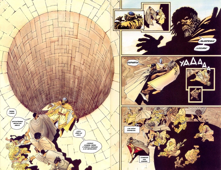 """300 - Frank Miller - """"This is Sparta"""""""