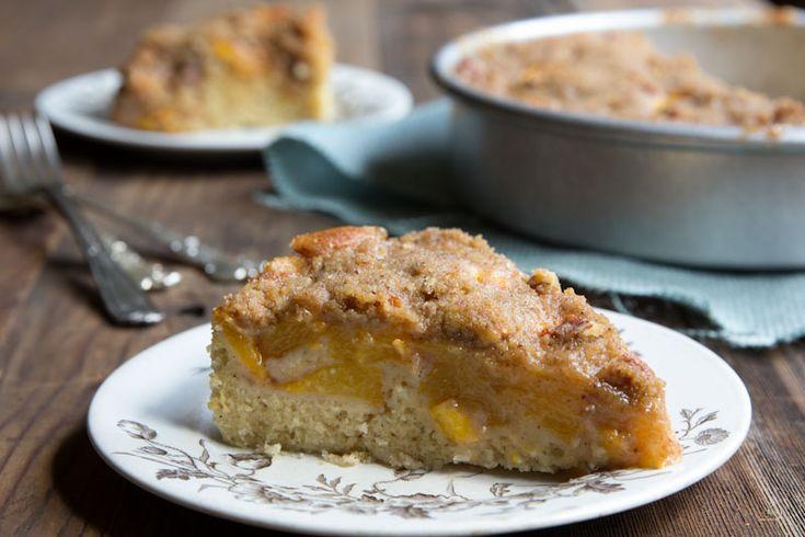 Peach Buckle Coffeecake Recipe | cookies cakes and joy oh my! | Pinte ...