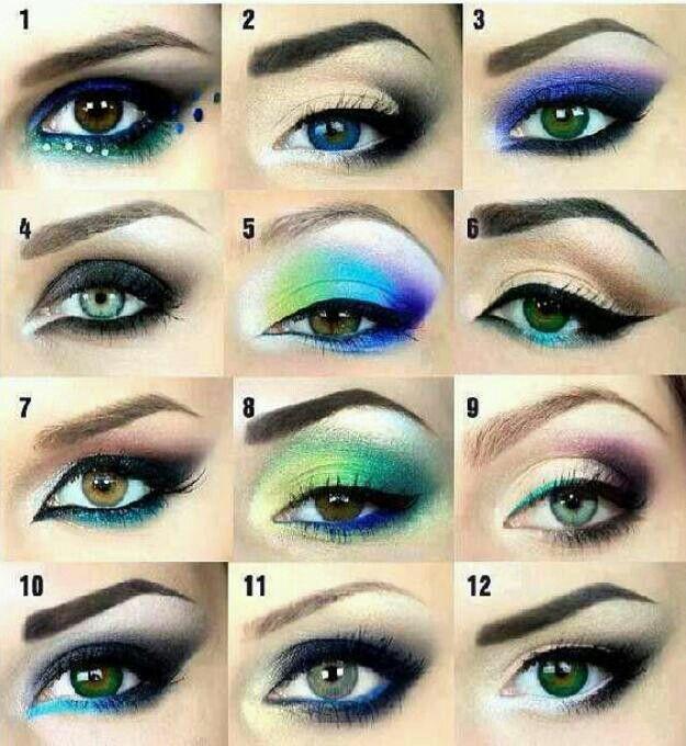 Different Types Of Pretty Makeup Makeup Pinterest