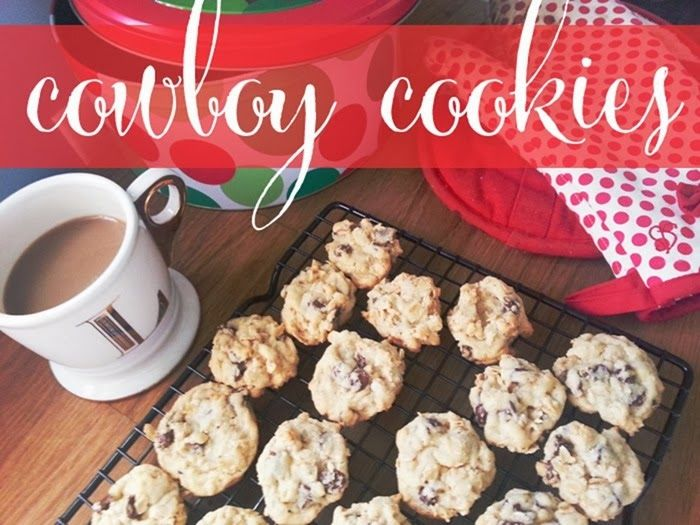 Cowboy Cookies - Oatmeal Chocolate Chip | cookies | Pinterest
