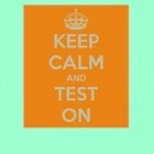 Keep Calm Poster for Standardized Testing...