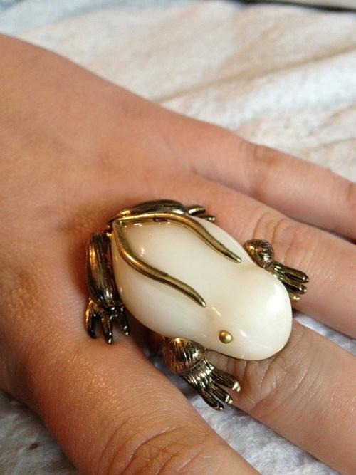 Frog Ring - $17.00
