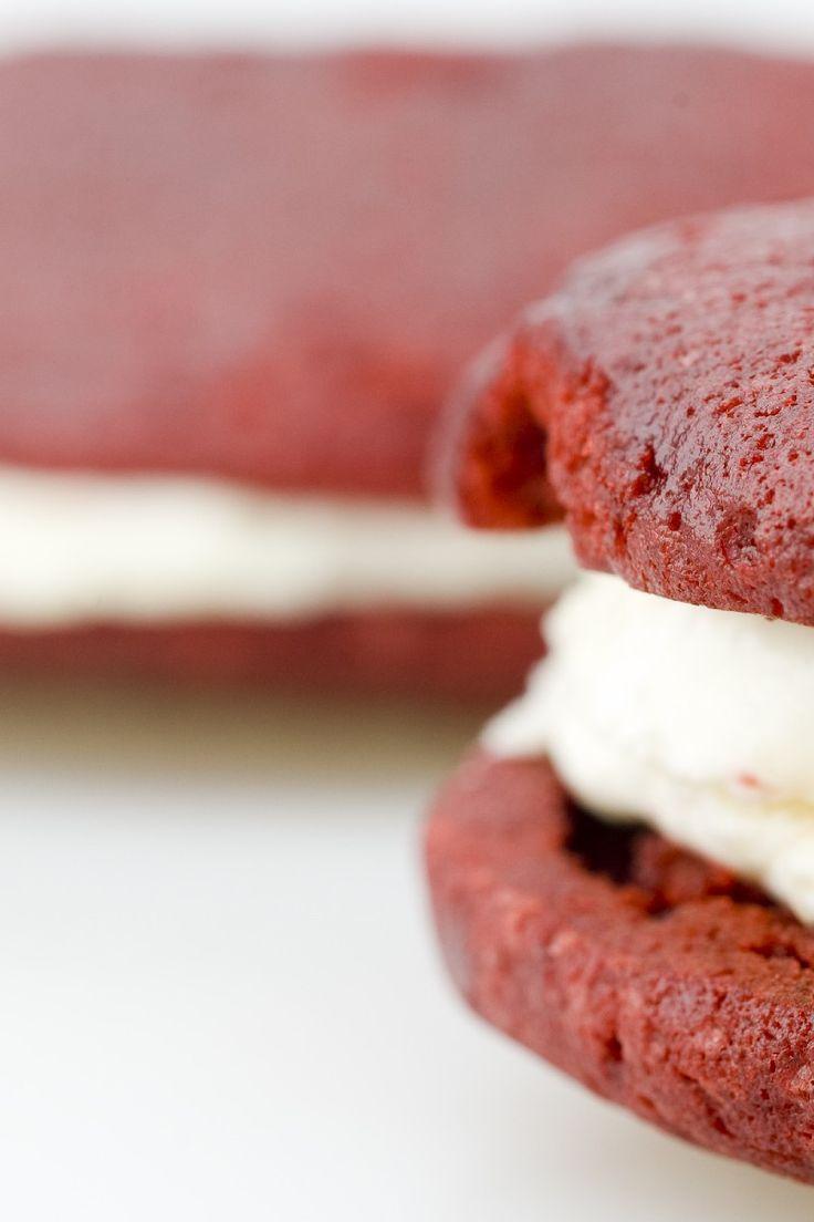 Dawn's Easy Red Velvet Sandwich Cookies Dessert #Recipe
