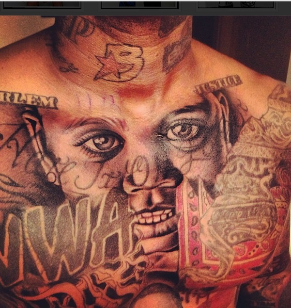 424 game gets new chest ink 1 skin ink pinterest for The game tattoos