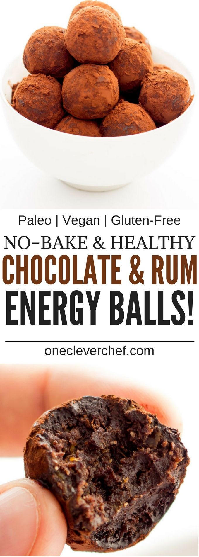 Try These Gluten-Free Chocolate Rum Balls That are Also Sugar-Free