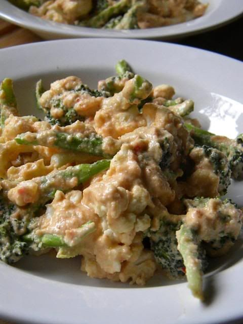 Broccoli & Cauliflower Nacho Cheeze Gratin(uses dehydrator- 1 hour ...