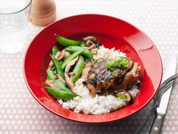 Chicken Thighs With Garlicky Crumbs And Snap Peas Recipes — Dishmaps