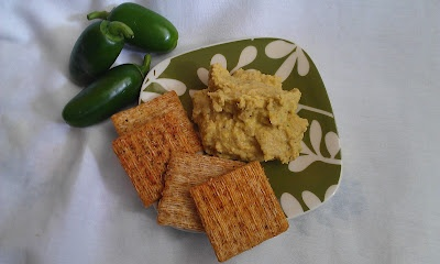 Cheezy Jalapeno Hummus - vegan! | What's Cookin' | Pinterest