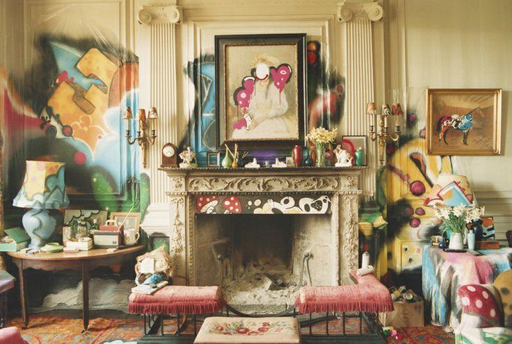 Graffiti Living Room Home Decor Pinterest
