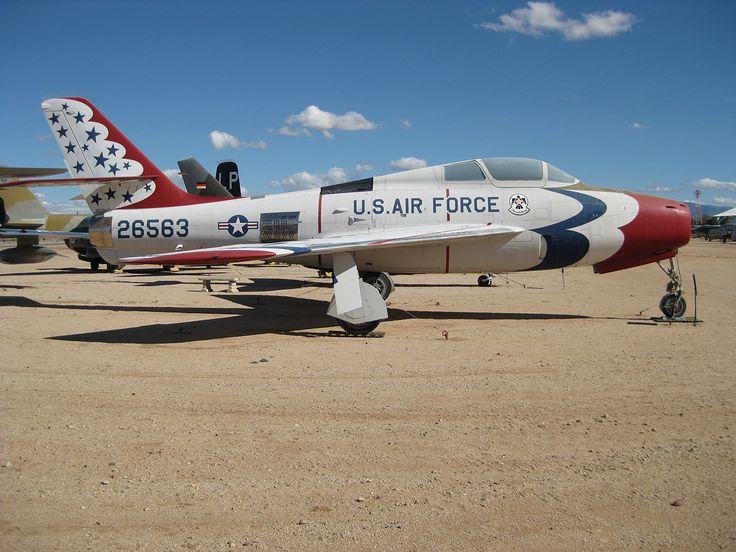 F-84 Thunderjet | Thunderbirds are GO! | Pinterest