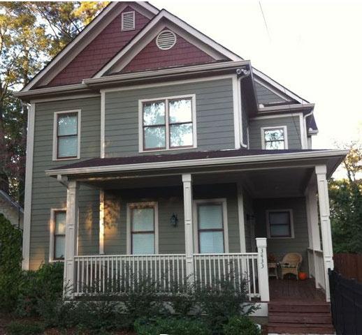 Gray White Burgandy Exterior House Colors Pinterest