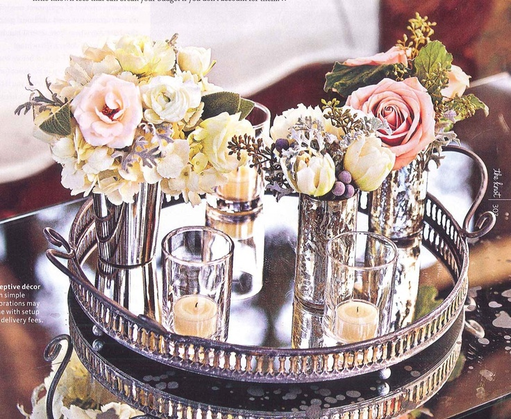 Romantic Centerpiece flowers