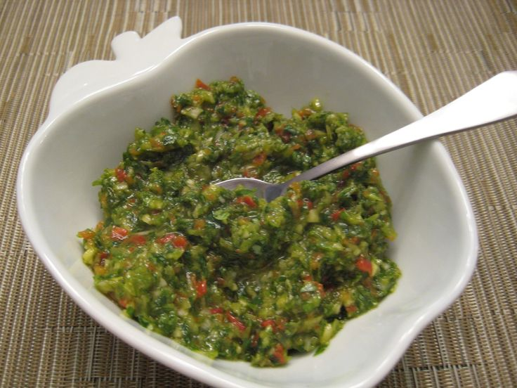 Puerto Rican Sofrito. Tasty on chicken, beef or lamb and even in salad ...
