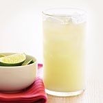 "Brazilian ""Lemonade"" Ingredients: 3 limes, quartered 1/3 cup sugar ..."