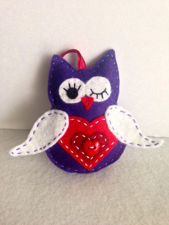 owl valentine's day crafts