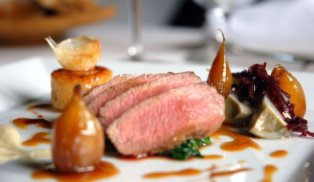 Pin by jeff rodriguez on chefs food drinks restaurants for Fine dining food