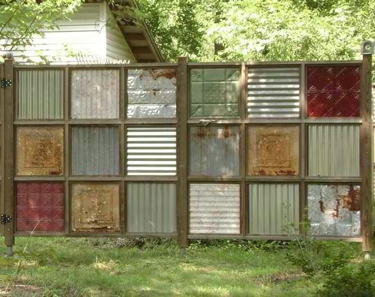 Privacy fence alternative yard garden pinterest for Garden privacy fence