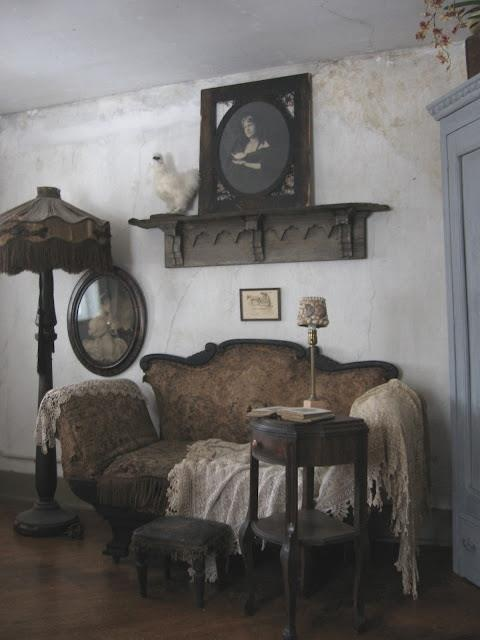 Vintage living room or parlor vintage pinterest for Parlor or living room