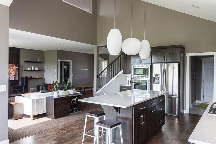 Open Kitchen Great Room Designs Modern