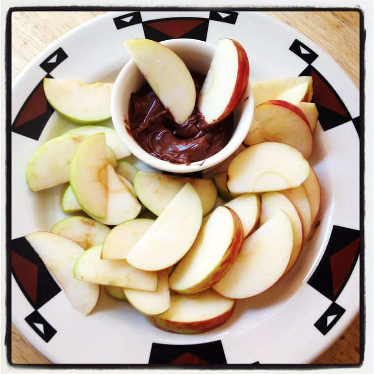 Apples and Nutella | Nutella | Pinterest