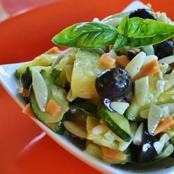 Orzo and Zucchini Salad Allrecipes.com | Not Your Usual Side Dish | P ...