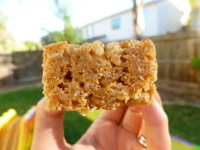 Brown Rice Crispy Treats...a little healthier than using dandies?