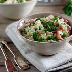 Risotto with Peas & Bacon (Risi e Bisi)